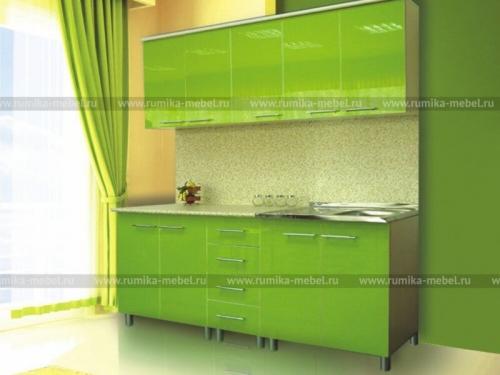 Кухня Наталья Зеленый Лимон