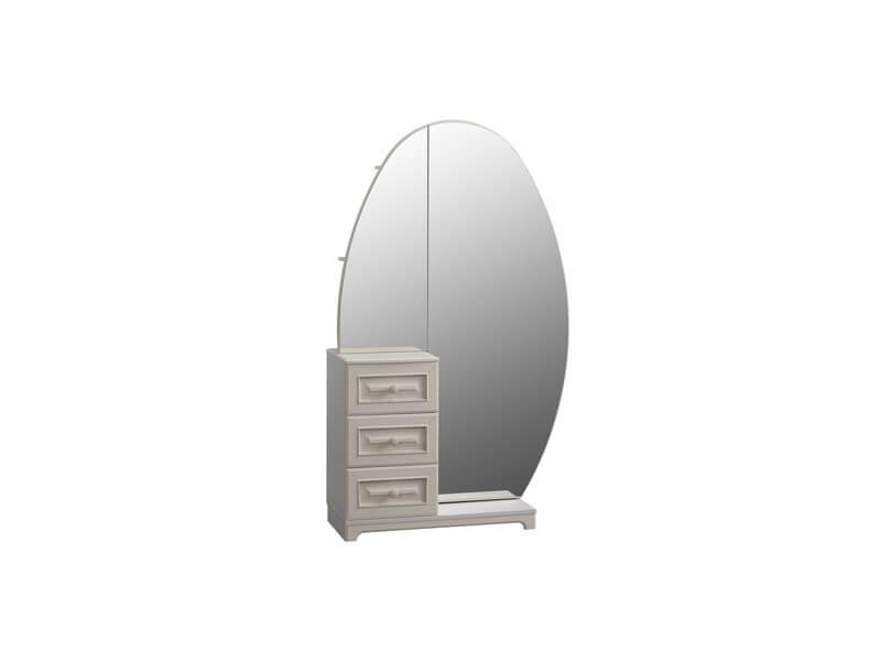 Шкаф_комбинированный_с_зеркалом_1050х420х1758_мм
