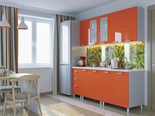 Кухня Модерн Оранж