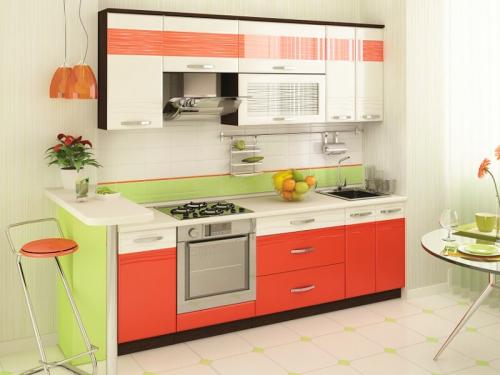 Кухня Оранж 9