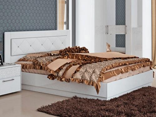 Кровать Амели с мягкой вставкой
