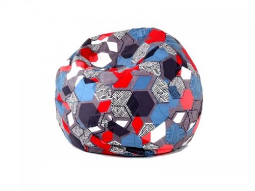 Кресло-мешок Мяч М категория 2 geometry slate