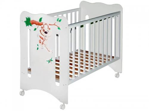 Кроватка детская Руслана Крошка Енот