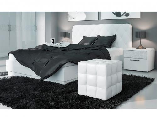 Кровать Амели с мягкой спинкой