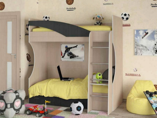 Кровать двухъярусная Бемби 4 СВ