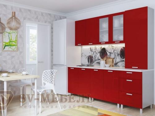 Кухня Модерн Гранат