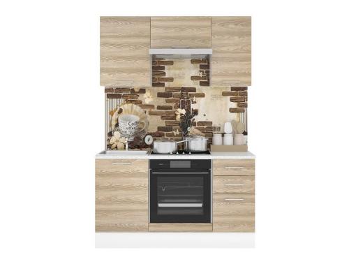 Кухонный гарнитур Полонез 1500 Сосна Бран