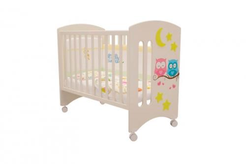 Кроватка детская Софи Совята Слоновая кость