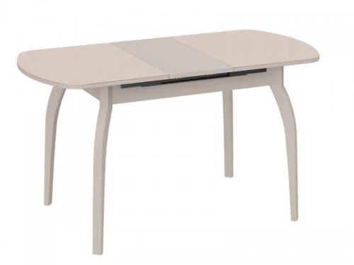 Стол обеденный Милан на деревянных ножках