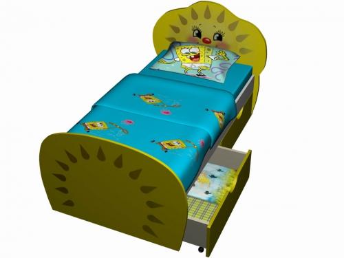 Кровать Солнышко