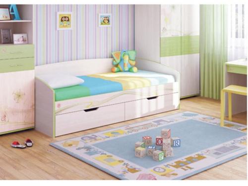Кровать детская Акварель