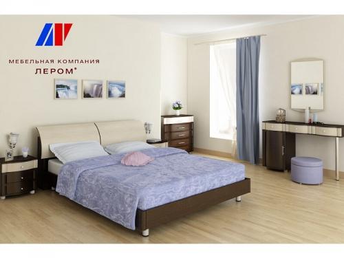 Спальня Дольче Нотте Дуб венге комбинированный